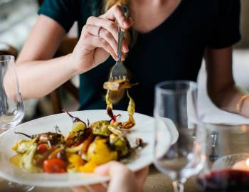 dining, wine, fork, restaurant