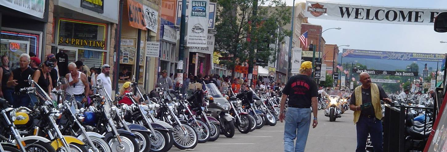 Sturgis Motorcycle Rally South Dakota Harley Davidson