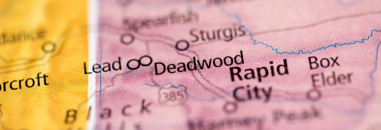 Deadwood Map